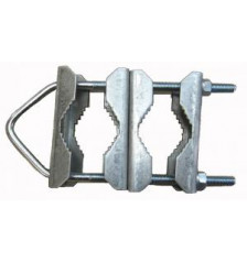 Mast Bracket 170x62x8 + 4 Clamps