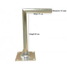 L-Mod Väggfäste Länd=60cm Höjd=35