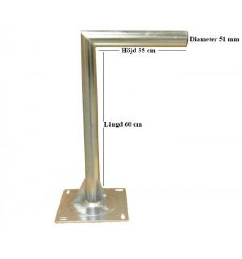 L-Mod Wall Mount Length = 60 cm Height = 35 cm