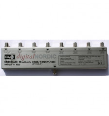 DN 8-way DiSEqC Switch 8in + 1Terr / 1ut indoors