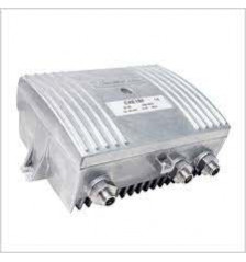 CXE180 is a compact 40 dB, 1 GHz dual output amplifier with rotary switch controls.