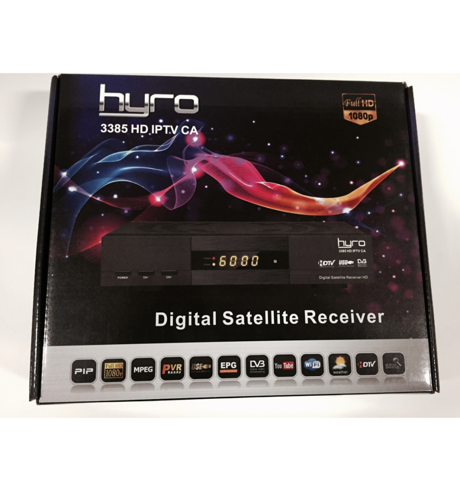 Hyro 3385 HD S2/S Wifi+CA