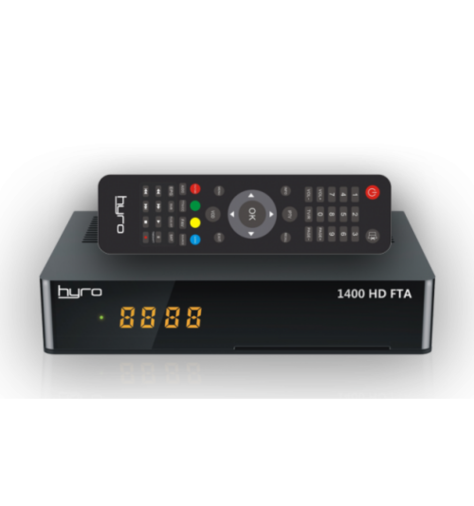 HYRO 1400 HD FTA Satellite Receiver