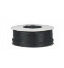 Coaxial cable 1.0 RG6 100m 3 Aluminum foil Black Color - Paper drum