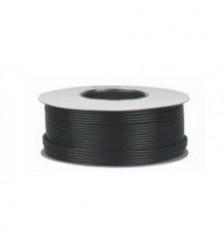 Coaxial cable 1.0 RG6 100m 3 Aluminum foil Black Color - Paper drum