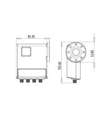 Inverto Quad C120 Flange LNB