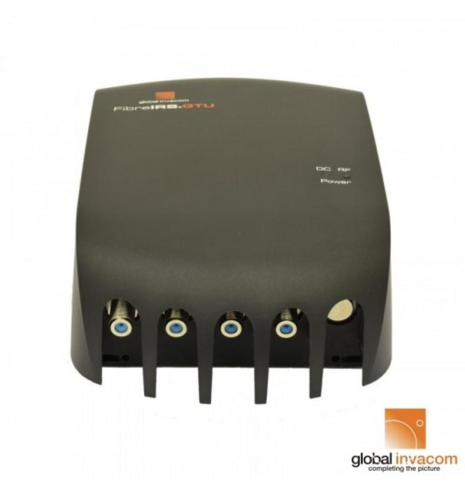 Invacom GI-IRS QUATRO fiber 2 svart låda
