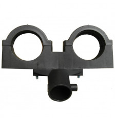 Side feeder for 75-85 TS Ringbom for 2 LNB