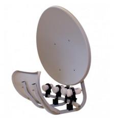 55cm toroidal dish antenna