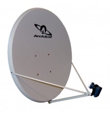 50cm Archsat Satellite dish White Offset