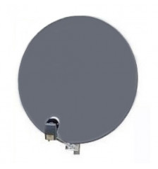 85cm Emme Esse Dish Gray Offset Square