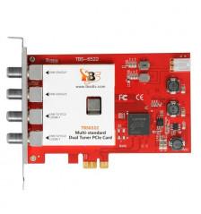 TBS6522 Multi-standard Dual Tuner PCIe-kort