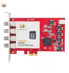 TBS6909 DVB-S2 8 Tuner PCIe-kort