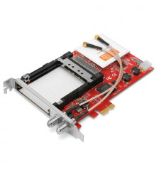 TBS 6590 DVB-S2 / T2 / C2 Dual Tuner + CI PCIe-kort