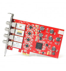 TBS6904 DVB-S2 Quad Tuner PCIe-kort