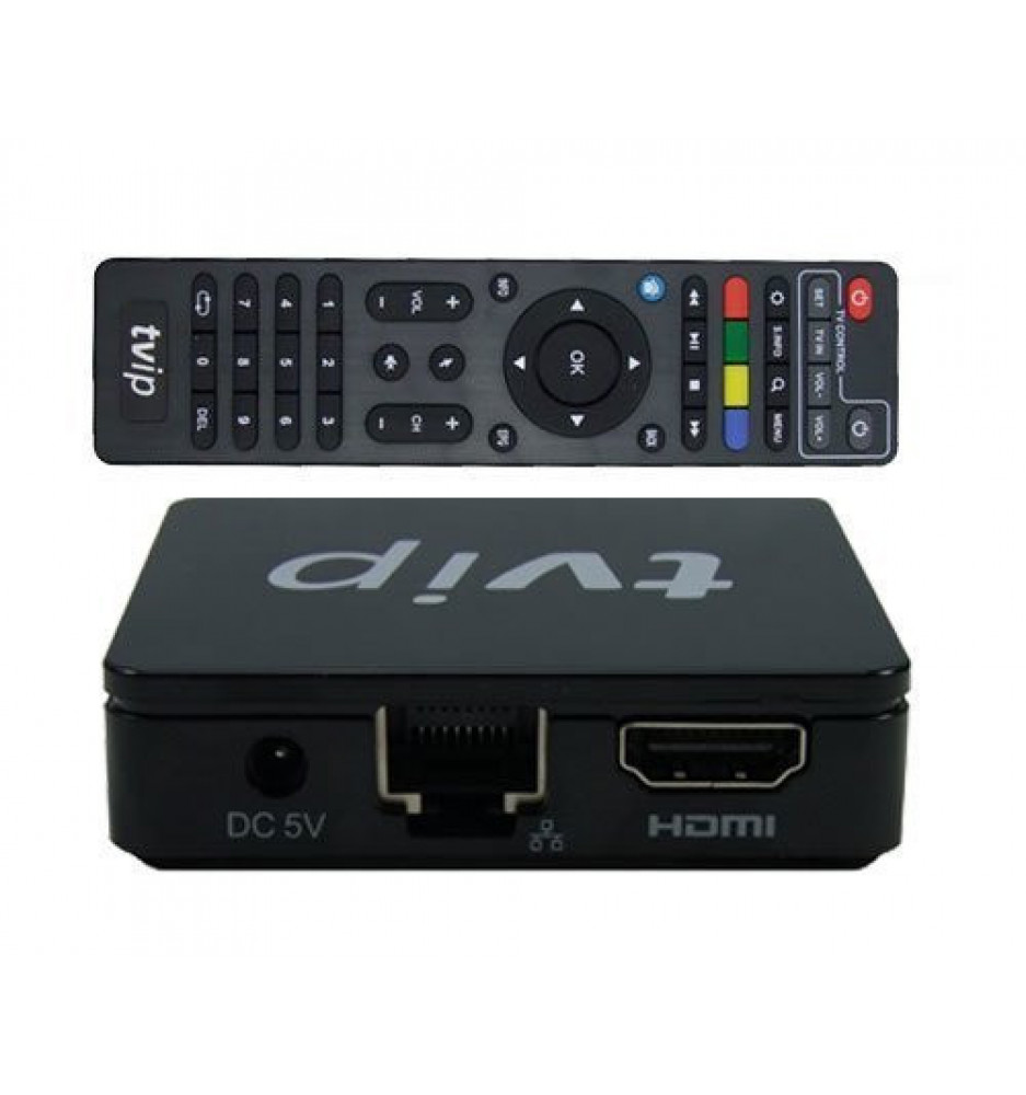 TVIP S-Box v.410 SE IPTV HD Multimedia Box Android o Linux
