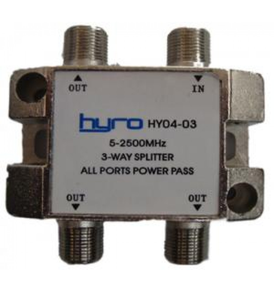 Hyro Splitter 3-Way 5-2400Mhz