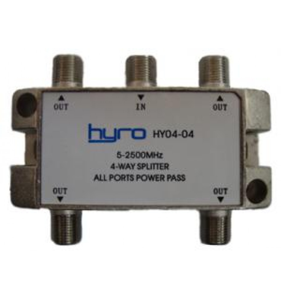Hyro Splitter 4-Way 5-2400Mhz
